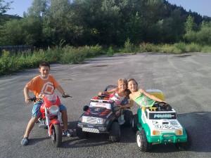 elektrické autíčka pre deti